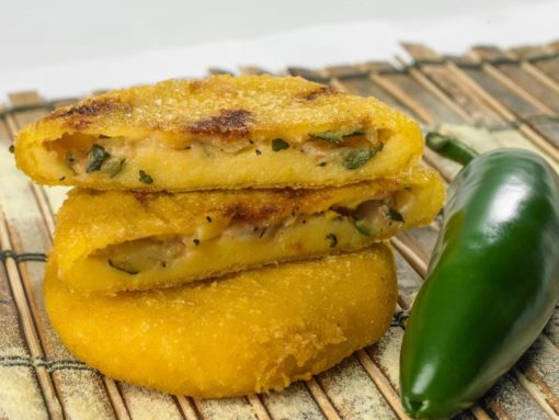 all-natural-arepa-vegetable-party-appetizer