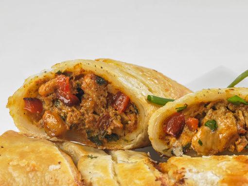 order-thai-chicken-hot-pocket-party appetizer